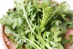 春菊の食べ方&レシピ