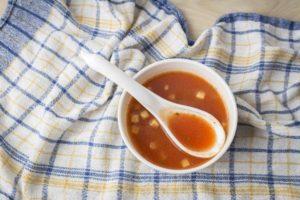 野菜のトマトスープ