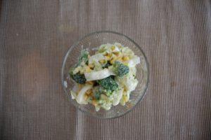 ゆで卵マヨネーズのサラダ