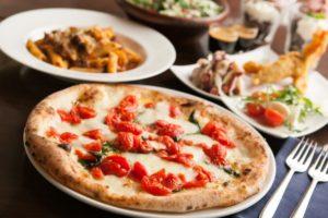 クリスマス・ピザに合う料理の献立、付け合わせ