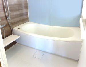 お風呂の排水口、床掃除