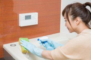 浴槽の掃除の仕方