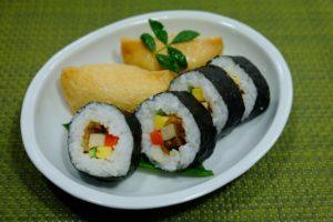 助六寿司、助六と揚巻