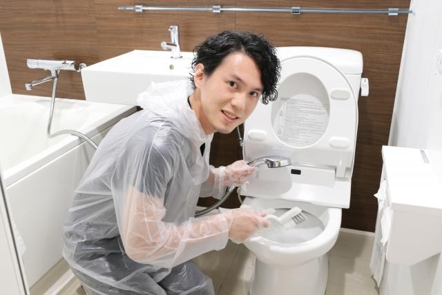 トイレ掃除のニオイ