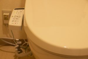 トイレの操作パネル
