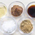 【さしすせそ/小さじ1&大さじ1のグラム数】砂糖、塩、酢、醤油、味噌の調味料は何g?計量スプーン&計量カップ1杯の重さ