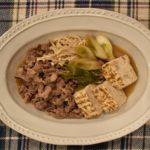 【肉豆腐にもう一品!献立レシピ&おかずの付け合わせ】肉豆腐に付け合わせる献立のコツ!人気おすすめ&初心者でも簡単レシピ~副菜は、和え物&きんぴら、おつまみは、さつま揚げがオススメ~