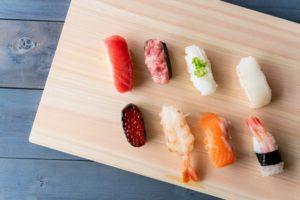 お寿司のよう酢飯で食べる