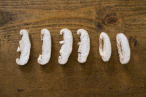 椎茸は、玉子丼の味がしみこむ具