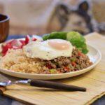 【ガパオライスの具ランキング、人気レシピ】ガパオライスの具材&おすすめ!食材の組み合わせ~簡単アレンジ&トッピングで作る夕食&ディナー献立~