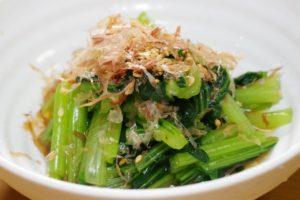 小松菜のお浸しの日持ち。作り置きの冷蔵庫、冷凍の賞味期限の目安