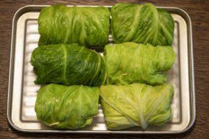 煮込む前のロールキャベツの冷凍保存~作り置きの日持ち、賞味期限~