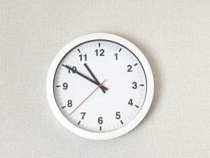 午前中・午後・夕方とは、何時から何時まで?午前中・午後・夕方の定義