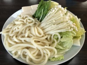 豚しゃぶ野菜の具材:白菜