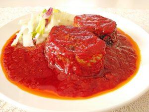 鯖缶のトマト煮、献立&付け合わせ、副菜