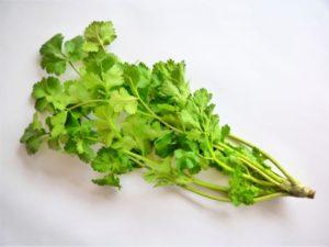 豚しゃぶ野菜の具材:春菊