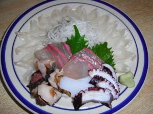 海鮮しゃぶしゃぶの魚:ヒラメ