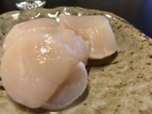 魚・海鮮しゃぶしゃぶのおすすめ具材:ホタテ