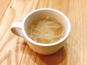 もやし×中華の素:中華スープ