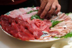 魚・海鮮しゃぶしゃぶのおすすめ具材:マグロ